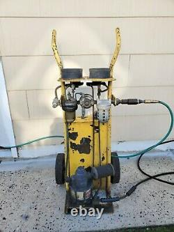 Portable Air Powered Pneumatic Hydraulic Pump 10,000 PSI