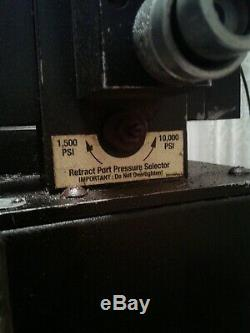 Power Team (SPX) 10,000 psi Hydraulic Torque Wrench Air Pump