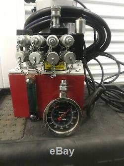 Power Team hydraulic pump air powered for torque wrench