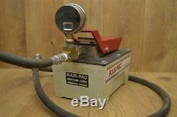 RAM-PAC RAM PAC Hydraulic Foot Air Pump HAP-050 with 6' Line, 10000psi Gauge