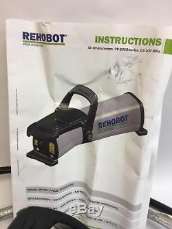 Rehobot PP70B-1000/LS201 Air Hydraulic Pump 10,000 PSI 70 MPa