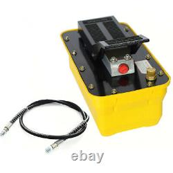 SALEHydraulic Air Foot Pump Bead Breaker Tire Changer 10000PSI 0.75-0.95/Lmin