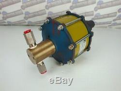 SC HYDRAULIC Non-Lubed Air-Driven LIQUID PUMP, PN 10-6000W050 951 (NEW in BOX)