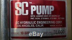 SC Hydraulic 10-6003SI-HD-SS Pneumatic Air Op Liquid Pump 1/2