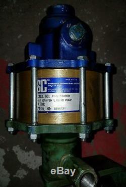 SC Hydraulic Engineering Corp. 11-5113A000 Air Driven Liquid Pump