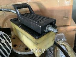 SPX Power Team Hydraulic PA50 Air Driven Foot Pump Control Switch Model D