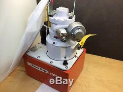 SPX Power Team NEW! PA554 Air Operated Power Pack 4-Way Valve 700 Bar/10,000 PSI