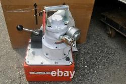 SPX Power Team PA554 Air Operated HYDRAULIC PUMP 4-Way Valve DOUBLE ACTING CYL