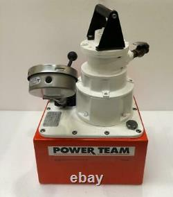 SPX Power Team PA554 Air Operated Power Pack 4-Way Valve 700 Bar/10,000 PSI #2