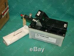 SPX Power Team PA6 Pneumatically Driven Air Operated Foot Hydraulic Pump NEW