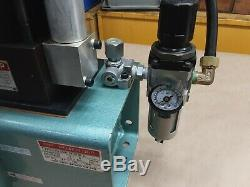 SR POWER UNIT Pneumatic Hydraulic Pump Air HM S100-15-CF28Z 1.8 GAL #06B26PR3