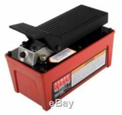 SUNEX TOOL Air/Hydraulic Foot Pump10 000 PSI Capacity SU4998