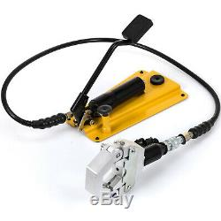 Separable Hydraulic Hose Crimper With Pedal Pump 6 Dies A/C Air Condtioning