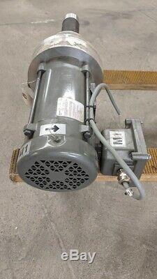 Settima GR20 SMT BLGMDV Screw Pump High Viscosity and Air Emulsion Baldor 1HP
