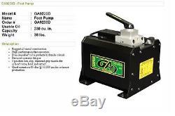 Simplex GA9230D Air Hydraulic Foot Pump 85db at 10,000 PSI Free shipping