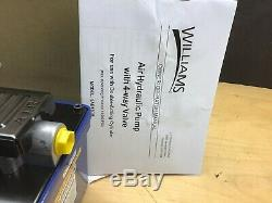 Snap-On Hydraulic Pump 5AD150M Williams Air Operated Double Acting BVA PA1500M