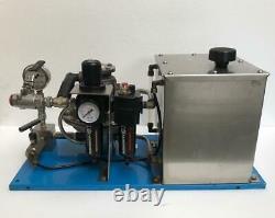 Sprague Products S216j30 Pneumatic Air Liquid/ Fluid Pump 3100 Psi Wp