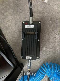 Spx Power Team Pa6 Hydraulic Foot Pump Air Driven 10,000psi