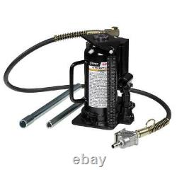Sunex 4412AH 12-Ton Durable Powerful Pump-Free Air Hydraulic Bottle Jack
