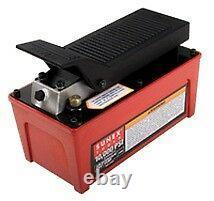 Sunex Tools 4998 Air/Hydraulic Foot Pump 10 000 Psi Capacity