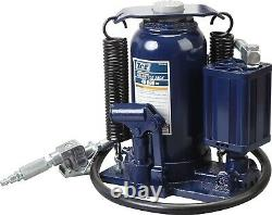 TCE 20 Ton Pneumatic Air Hydraulic Bottle Jack with Manual Hand Pump