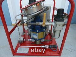 Tentec pneumatic air bolt tensioner hydraulic fluid liquid pump 1500 bar