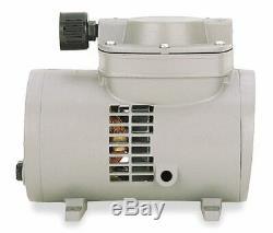 Thomas 927CA18 Oil-less Diaphragm Air Compressor Vacuum Pump 1/8 HP 30PSI 60Hz