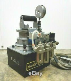 Torcup Ap1000-p Pneumatic Powered Hydraulic Pump Air Power Pack Torque Hytorc