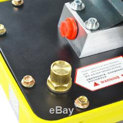 US-Send Air Powered Hydraulic Pump 10,000 PSI Foot Single Acting Hydraulic 2.3L
