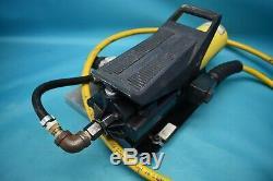 Used Enerpac Pa133 C1508c 10,000psi Air Hydraulic Pump